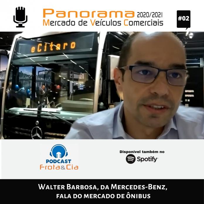 Walter Barbosa, Diretor de Vendas e Marketing Ônibus da Mercedes-Benz, descreve o comportamento do mercado de chassi de ônibus no ano