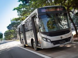 A Mercedes-Benz do Brasil alcançou o marco histórico de 50 anos dos chassis de ônibus da linha OF com motor frontal. Assim, celebrando o primeiro modelo
