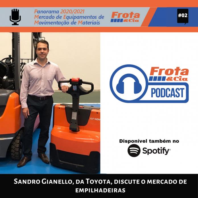 Sandro Gianello, da Toyota, discute o mercado de empilhadeiras