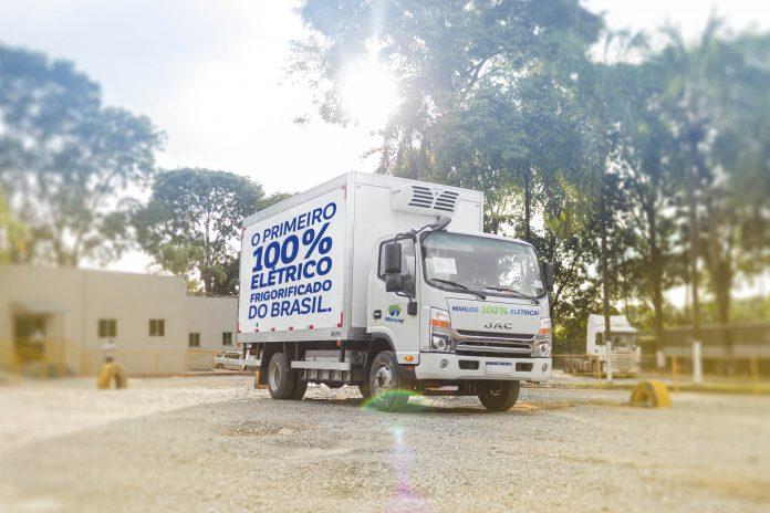 A Manlog colocou em operação seus primeiros caminhões 100% elétricos e frigorificados. Dessa forma, reforçando o posicionamento de sustentabilidade