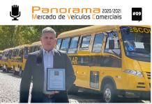 O diretor comercial da Agrale, Edson Martins, comenta as conquistas da marca no mercado de ônibus em 2020 e as previsões para 2021.
