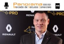 Alex Dias, da Renault, destaca o comportamento do mercado de utilitários