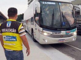 A cidade do Rio de Janeiro, montou, na manhã desta sexta-feira (26), barreiras sanitárias para evitar circulação de vans e ônibus de outros municípios.