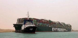 O Cargueiro Ever Given foi desencalhado após operação de quase uma semana nao Canal de Suez. Com isso, uma das principais, senão a principal,