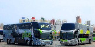 A Viação Garcia-Brasil Sul amplia sua frota de ônibus neste mês. O novo modelo irá atender 20 cidades nos estados do Paraná, Santa Catarina e São Paulo.