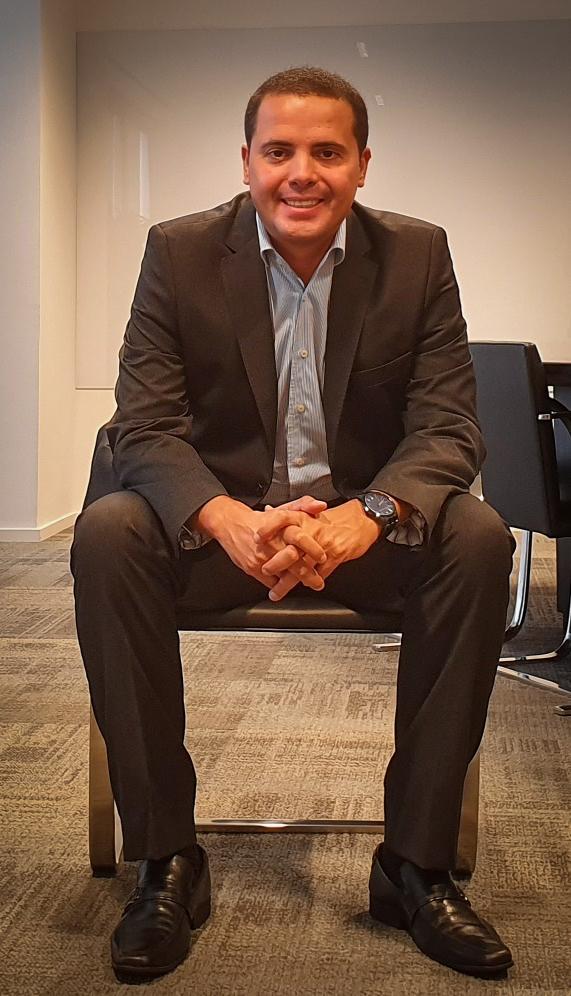 Jamef anuncia Fernando Faustino como novo diretor de TI. Anteriormente, Faustino atuava como superintendente da área com foco em inovação tecnológica.