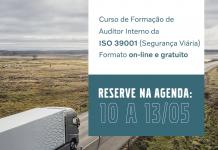 Volvo promove curso gratuito de auditor ISO 39001. O curso tem vagas limitadas e será oferecido pelo Programa Volvo de Segurança no Trânsito (PVST).