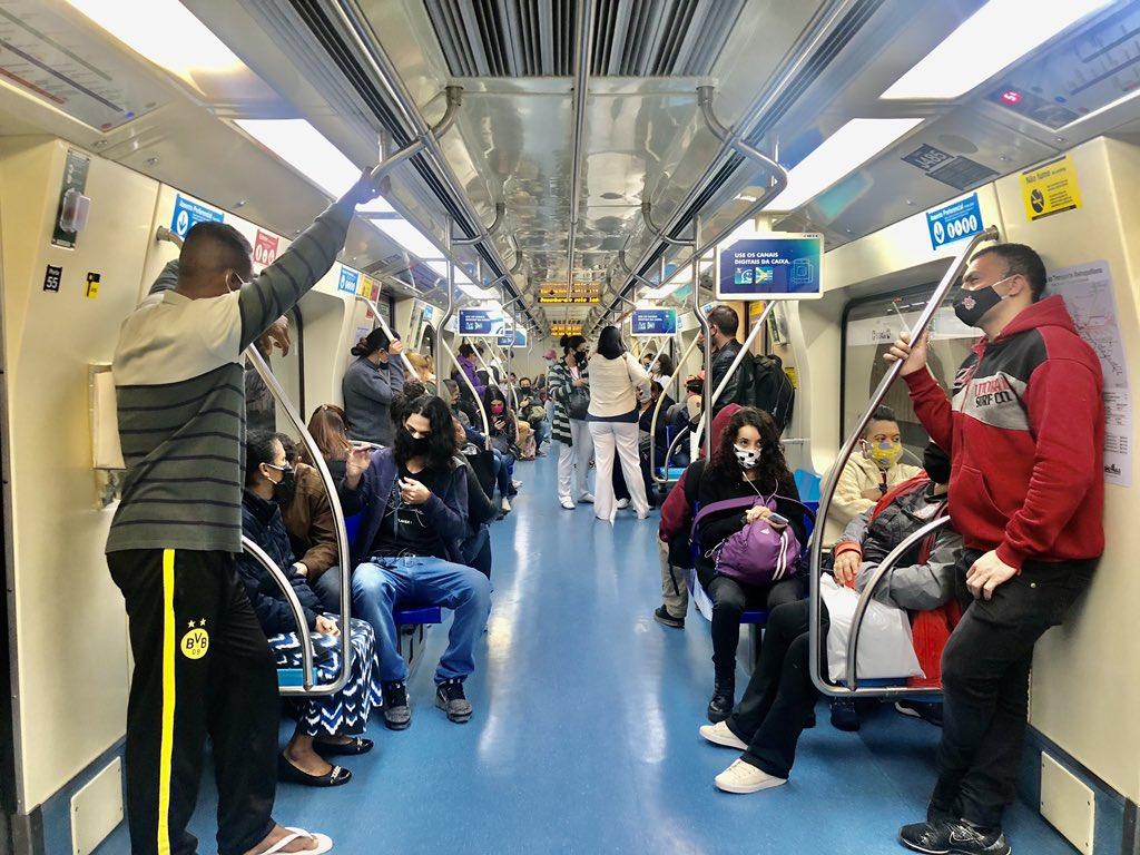 O Metrô de São Paulo registrou prejuízo de R$ 1,7 bilhão em 2020 em comparação a 2019. Dessa forma, refletindo o impacto da pandemia do coronavírus no transporte