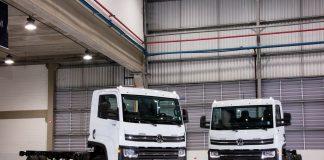 A VW Caminhões e Ônibus acaba de alcançar atingir o marco de 100 caminhões VW vendidos em um mês no Uruguai. Os números correspondem a