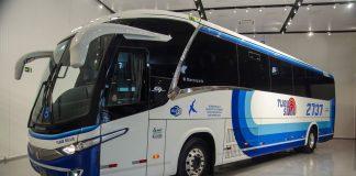 A Turis Silva anuncia nesta segunda (31), no SEST SENAT, o início da operação do primeiro ônibus rodoviário do Brasil movido a GNV e/ou biometano.
