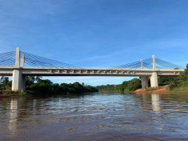 O governo federal inaugurou, nesta quinta (20), a Ponte do Rio Parnaíba que fica entre Santa Filomena (PI) e Alto da Parnaíba (MA), na BR-235.