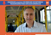 O diretor da divisão de Mobilidade da Voith Turbo, Rogério Pires, fala do desempenho de sua empresa em 2020 e as projeções para o mercado