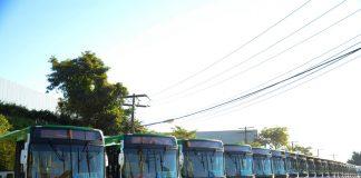 Reforçando e renovando suas frotas, as empresas Integração, Caribus e União Transportes do Mato Grosso acabam de receber 63 novos ônibus Caio.