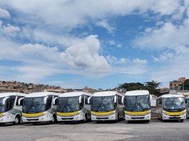 A Marcopolo, por intermédio da filial Marcopolo Minas, está fazendo a entrega de 101 veículos para a Rio Negro. Assim, a empresa pertencente ao