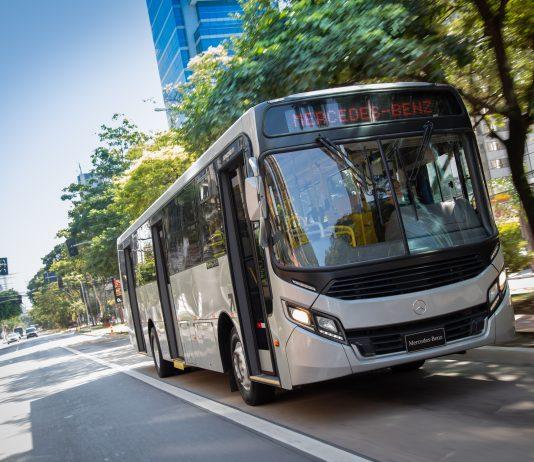 A Mercedes-Benz do Brasil comemora o volume de 100.000 chassis OF 1721 vendidos no país. São mais de 120.000 unidades produzidas na fábrica de São Bernardo.