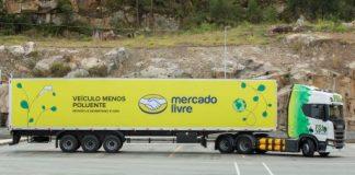 O Mercado Livre anuncia expansão da frota sustentável com a chegada de 46 carretas movidas a gás natural veicular (GNV)/biometano até o final do ano.