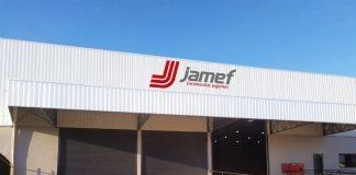 No último sábado, dia 05 de junho, a Jamef Encomendas Urgentes, especializada no transporte de cargas fracionadas, inaugurou mais uma nova filial,