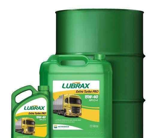 A Lubrax acaba de lançar um novo lubrificante para o mercado de pesados. Trata-se do Lubrax Extra Turbo PRO CI-4, recomendado para motores a diesel