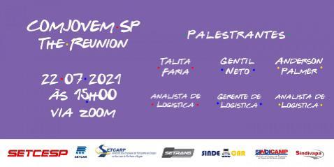 Na próxima quinta-feira (22), a COMJOVEM SP se reunirá com os núcleos do estado em mais um encontro virtual, via Zoom. Assim, a associação