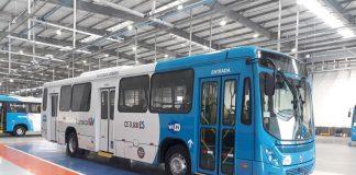 A Marcopolo, acaba de entregar o primeiro lote de 121 ônibus urbanos Torino para o Sistema de Transporte Coletivo da Região Metropolitana da Grande Vitória