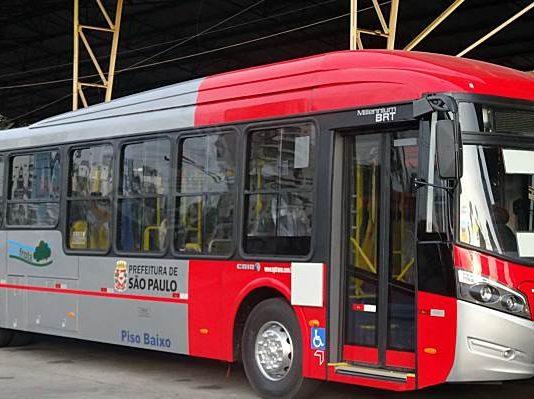 A Express Transportes Urbanos, operadora de transportes da capital paulista, acaba de reforçar sua frota com 8 novos veículos CAIO