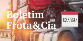 Comece sua semana atualizado com o Boletim Frota&Cia.
