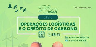 A transportadora Cargolift Logística irá promover, no dia 05 de agosto, um evento on-line para debater a importância da conservação ambiental