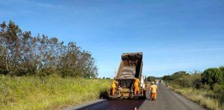 O governo do estado do Rio Grande do Sul concluiu a recuperação do pavimento da ERS-403, em Rio Pardo, e da VRS-809, no acesso à Universidade Federal