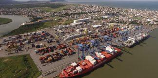 A movimentação de cargas nos portos privados registrou aumento de 9% no primeiro semestre do ano com total de 384,3 milhões de toneladas.