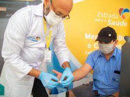 A CCR ViaOeste e Instituto CCR promovem uma semana de sensibilização dos caminhoneiros sobre os cuidados referentes ao colesterol
