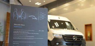 A Mercedes-Benz Vans está celebrando uma dupla certificação de implementadoras brasileiras de furgões. Em novembro, a montadora certificou a empresa