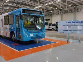 A VWCO acaba de entregar 103 Volksbus 17.230 OD e 43 Volksbus 17.260 OD para empresas do transporte metropolitano de Vitória (ES).