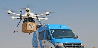 A Mercedes-Benz Vans realiza parceria com a Speedbird Aero, primeira empresa certificada a desenvolver e operar sistemas aéreos não tripulados