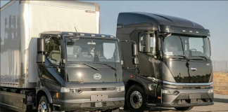 A BYDrecentemente marcou presença no evento de veículos elétricos pesadosACT Expo em Long Beach, Califórnia. A montadora chinesa