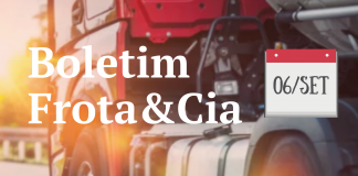 Nova edição do Boletim Frota&Cia te atualiza em menos de 10 minutos
