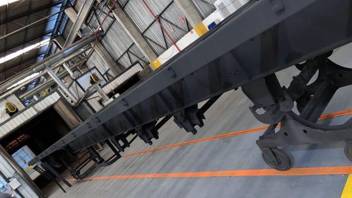 Dos 300 modelos Rodotrem Graneleiro Série Origens que serão fabricados pela Guerra, metade já possui destino certo.