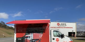 A JSL, uma das maiores operadoras logísticas do País, lança sua primeira unidade itinerante. A ideia do projeto é rodar todo o país visitando