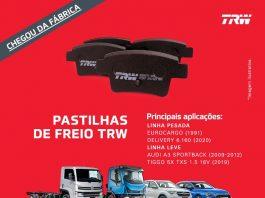 A ZF Aftermarket acaba de ampliar sua linha de pastilhas de freio TRW. Os novos produtos