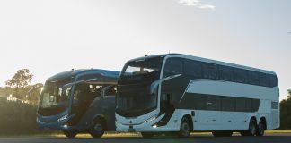 A Geração 8 de ônibus rodoviários Marcopolo atinge a marca de 200 unidades vendidas para clientes do mercado brasileiro e latino-americano apenas