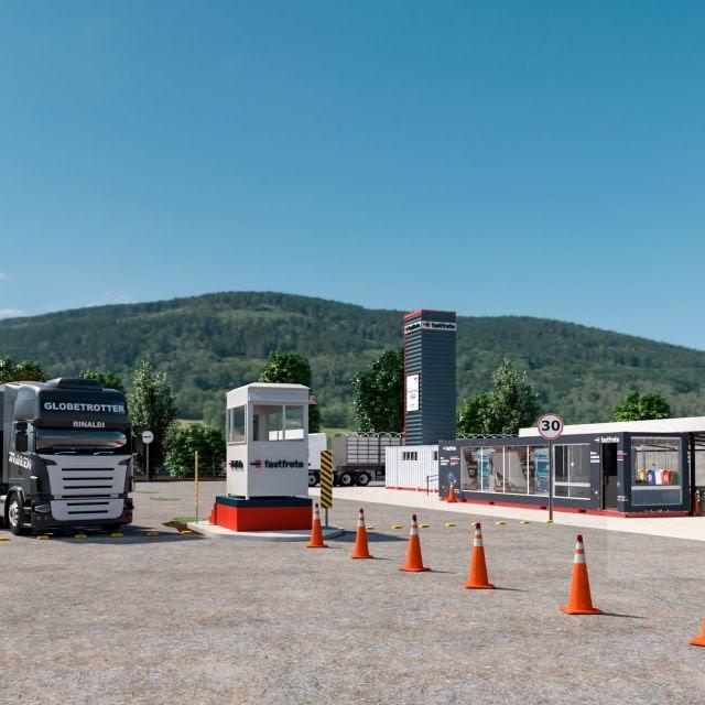 A Fastfrete, plataforma online de gestão e cotação de fretes, acaba de inaugurar um pátio para caminhões vigiado 24hr com capacidade de 240 veículos.