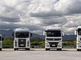 Desde o lançamento do VW e-Delivery, todos os caminhões VW saem de fábrica com o QR Code colado no para-brisa do veículo. Assim, a VWCO se destaca por