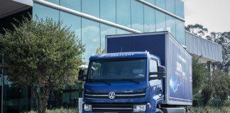 A Volkswagem Caminhões e Ônibus (VWCO) oferece consórcio e-Delivery, caminhão elétrico da montadora, para garantir facilidade aos clientes.