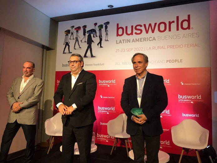 Busworld chega à America Latina e será realizada na Argentina. O lançamento oficial aconteceu no dia 28 de setembro em La Rural Predio Feira.