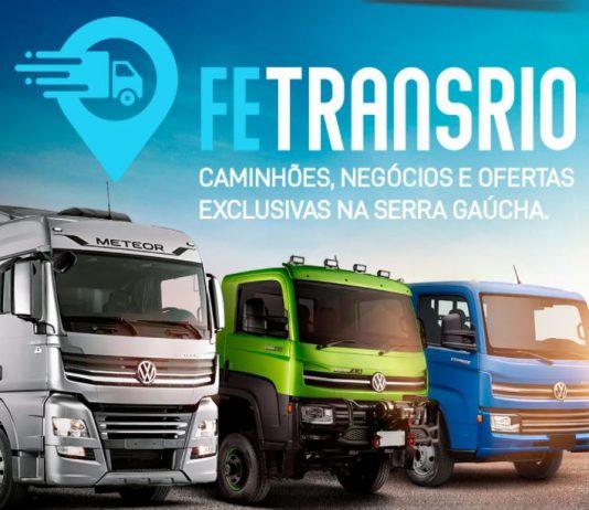A FeTransrio acontece entre os dias 19 e 21 de outubro, em Flores da Cunha, na Serra Gaúcha, entre 14h e 21h. O evento terá teste drive de caminhões.