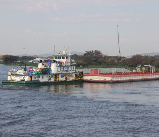 A Hidrovias do Brasil informou que navegou de forma pontual e restritiva em setembro no Corredor Sul. Segundo a companhia, o motivo é a crise hídrica.