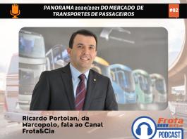 Ricardo Portolan, diretor de Operações e Marketing da Marcopolo, comenta o comportamento do mercado de ônibus em 2021 e as projeções para o próximo ano.