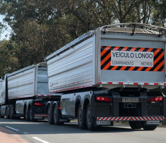 A Randon, uma das maiores implementadoras do país, desenvolve junto com a Volvo e outros parceiros, um novo conceito de semirreboque. Está lançado o Concept