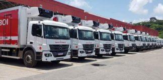A Masterboi acaba de concretizar a compra de mais 10 caminhões Mercedes-Benz para ampliação e renovação da sua frota. Assim, a empresa recebeu quatro